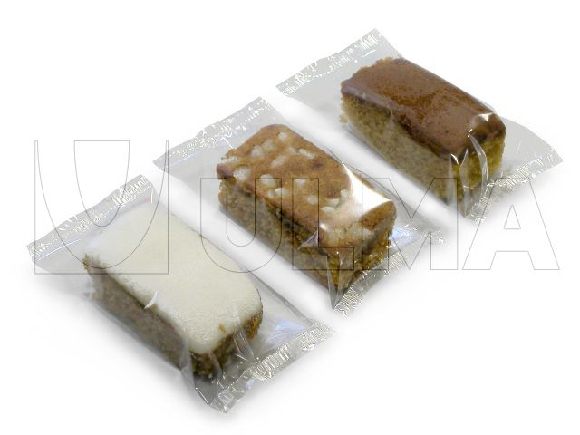 Cacke Bars Packaging In Flow Pack Wrapper Hffs Ulma