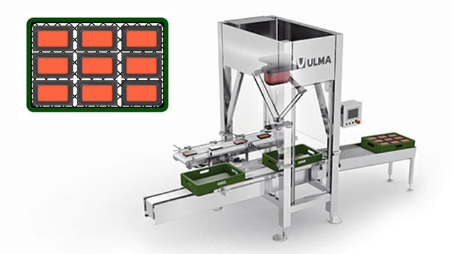 Crate packing with Ulma U10H Robot